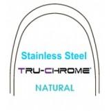 """Tru-Chrome дуга .016X.016""""/0.41X0.41 мм. н/ч"""