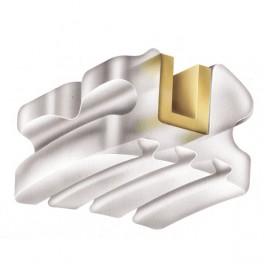 LUXI II Roth .018'' набор брекетов 20 шт. (металлизированный паз)